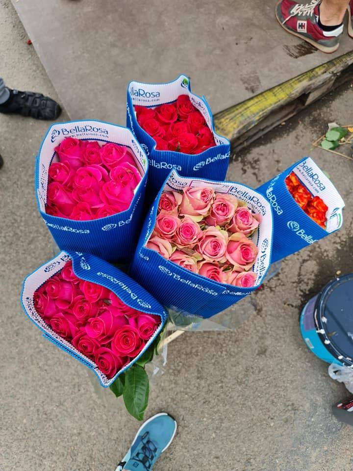 Apsilankymas Markučių gėlių turgelyje